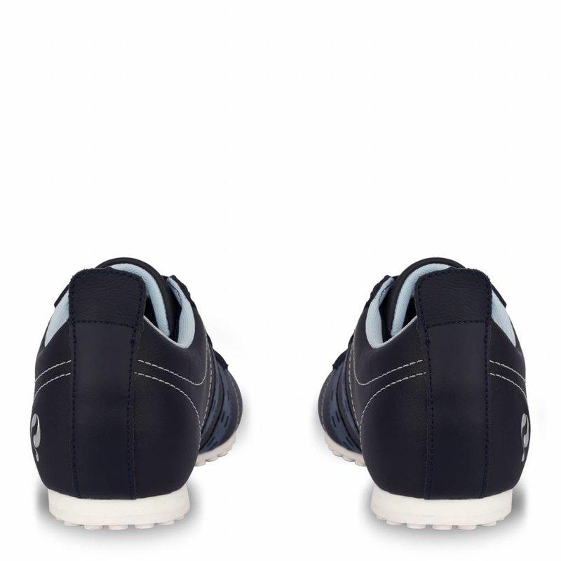Q1905 Heren Sneaker Typhoon Sp  -  Donkerblauw/Denim Blauw