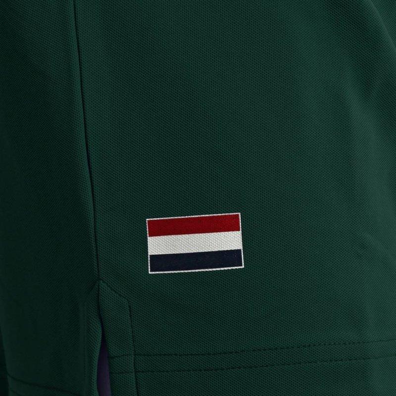 Q1905 Heren Polo Joost Luiten  -  Donkergroen