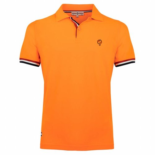 Men's Polo Joost Luiten  -  Soft Fluor Orange