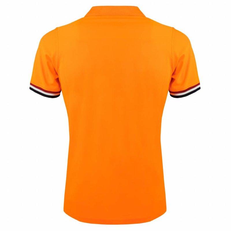 Q1905 Men's JL Polo  -  Soft Fluor Orange