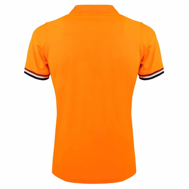 Q1905 Men's Polo Joost Luiten  -  Soft Fluor Orange