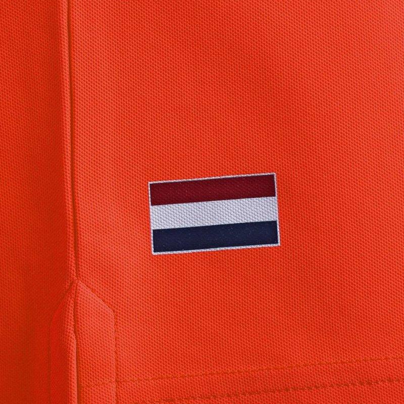 Q1905 Heren Polo Joost Luiten  -  Oranje Rood