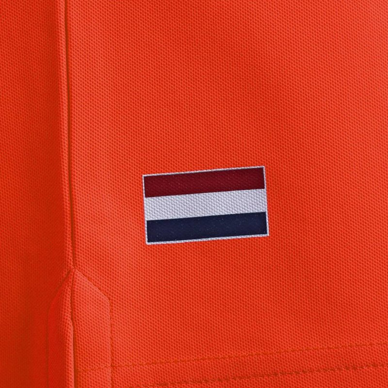 Q1905 Men's Polo Joost Luiten  -  Orange Red