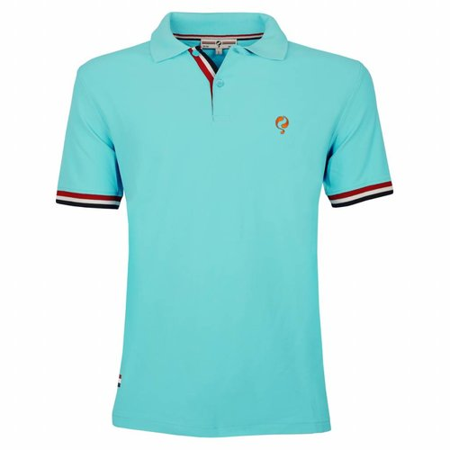 Men's Polo Joost Luiten  -  Aquamarine