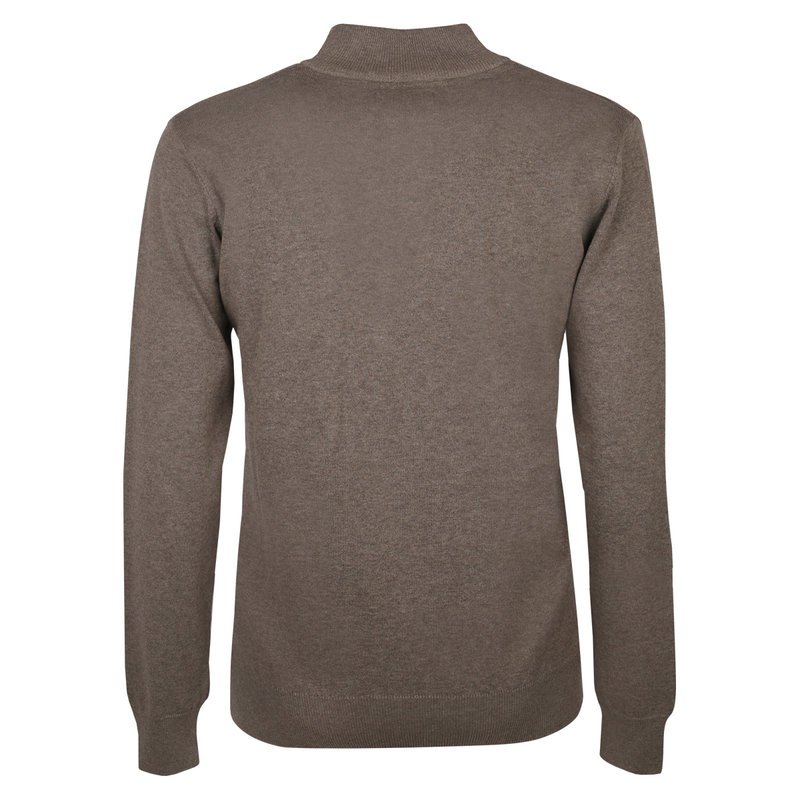 Q1905 Men's Pullover Stoke  -  Mid Brown