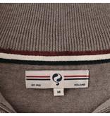 Q1905 Heren Pullover Stoke  -  Midden Bruin