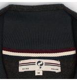 Q1905 Heren Pullover Stoke  -  Donkergrijs