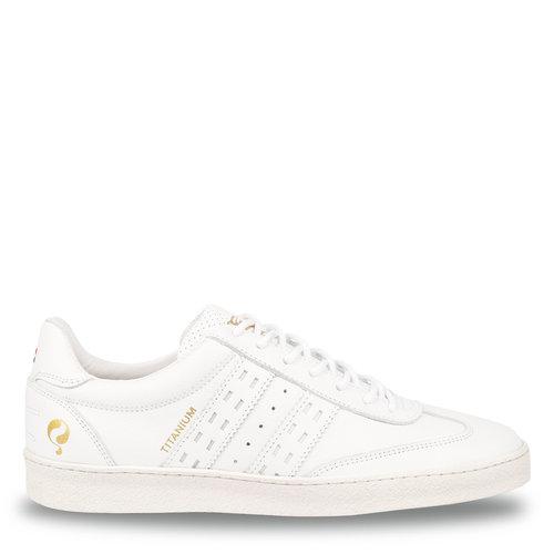 Men's Sneaker Titanium  -  White