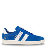 Q1905 Men's Sneaker Titanium  -  Hard Blue/White
