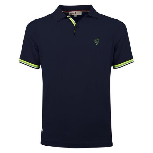 Heren Polo Joost Luiten  -  Donkerblauw (Groen)