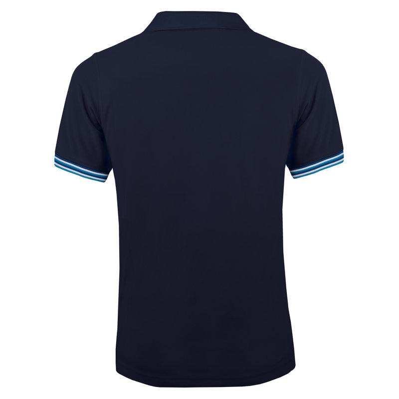 Q1905 Heren Polo Joost Luiten  -  Donkerblauw (Blauw)