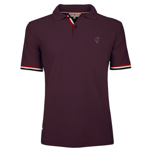 Men's Polo Joost Luiten  -  Wine Red
