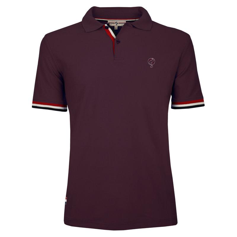 Q1905 Men's Polo Joost Luiten  -  Wine Red