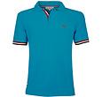 Q1905 Heren JL Polo  -  Donker Turquoise