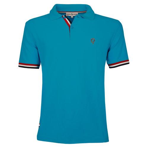 Men's JL Polo  -  Dark Turquoise