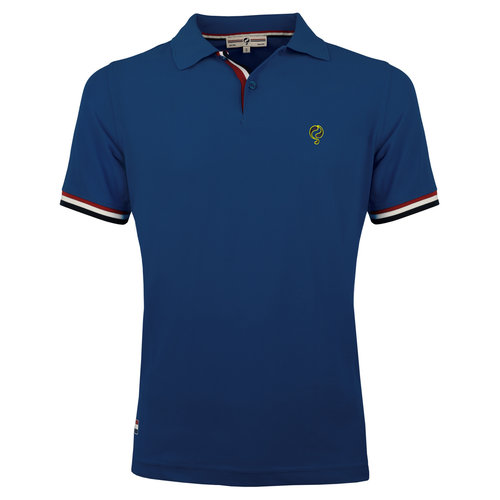 Men's Polo Joost Luiten  -  Jeans Blue