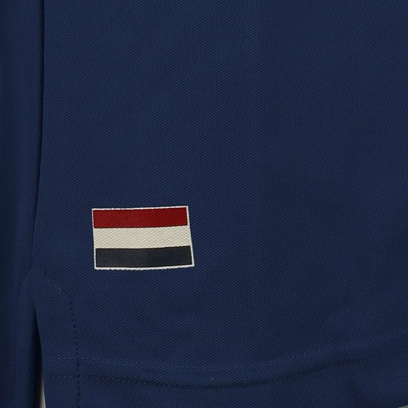 Q1905 Heren Polo Joost Luiten  -  Jeans Blauw