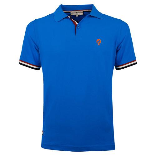 Heren Polo Joost Luiten  -  Koningsblauw