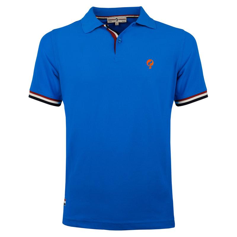Q1905 Heren JL Polo  -  Koningsblauw