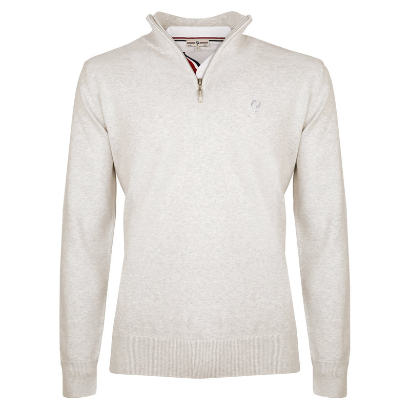 Q1905 Men's Pullover Stoke  -  Light Grey