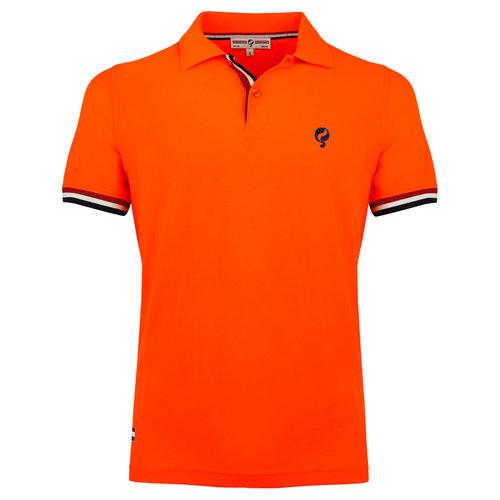 Heren Polo Joost Luiten  -  Neon Oranje