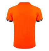 Q1905 Men's Polo Joost Luiten  -  Neon Orange