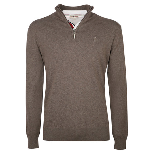 Men's Pullover Stoke  -  Mid Brown