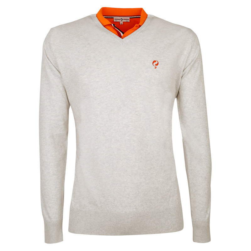 Q1905 Heren Pullover V-neck Luton Greyhound