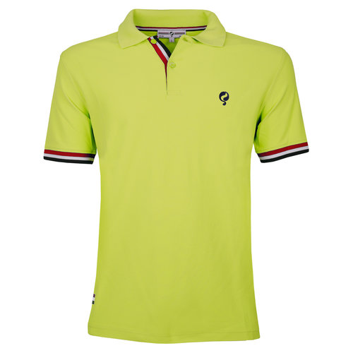 Heren JL Polo Soft Lime