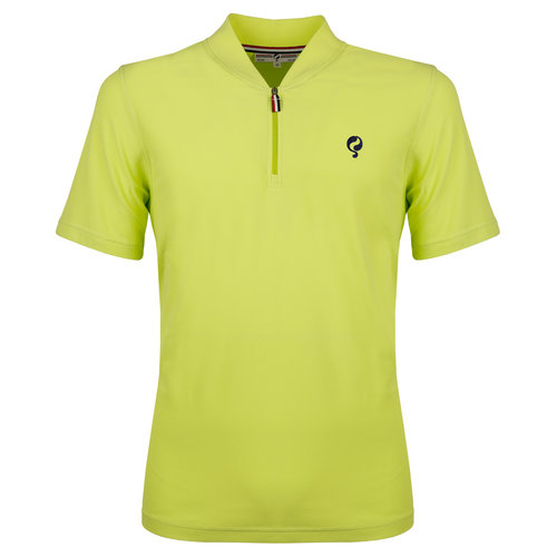 Heren Polo JL One Soft Lime