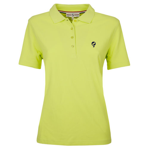 Dames Polo Square Soft Lime