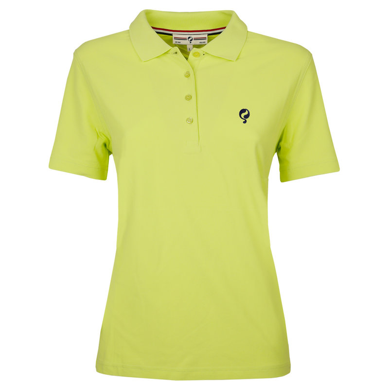 Q1905 Women's Polo Square Soft Lime
