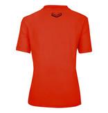 Q1905 Dames Polo Square  -  Oranje Rood