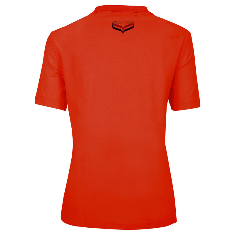 Q1905 Ladies Polo Square  -  Orange Red