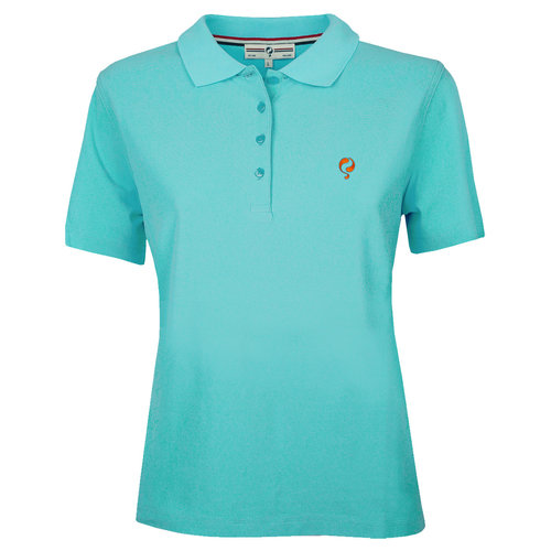 Ladies Polo Square  -  Aquamarine