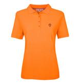 Q1905 Ladies Polo Square  -  Soft Fluor Orange