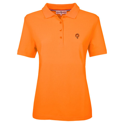 Ladies Polo Square  -  Soft Fluor Orange