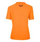 Q1905 Dames Polo Square  -  Zacht Fluor Oranje