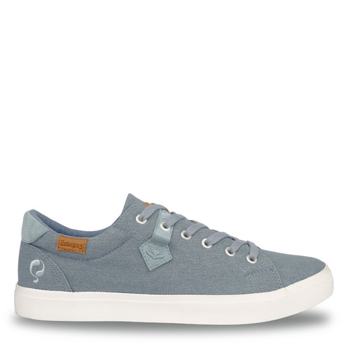 Heren Sneaker Laren  -  Licht Denim Blauw