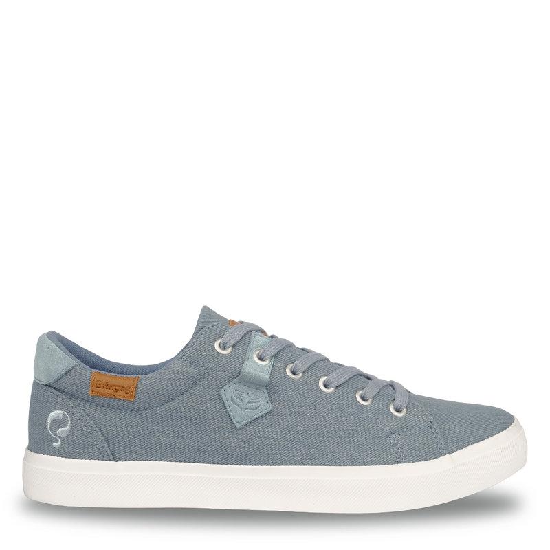 Q1905 Heren Sneaker Laren  -  Licht Denim Blauw