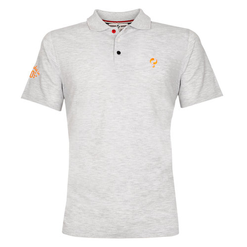 Men's Polo Willemstad  -  Light Grey