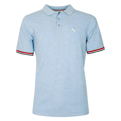 Men's Polo Bloemendaal  -  Heaven Blue