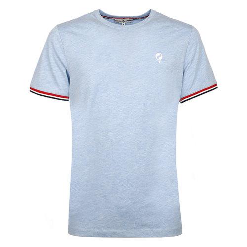 Heren T-shirt Katwijk  -  Hemelsblauw