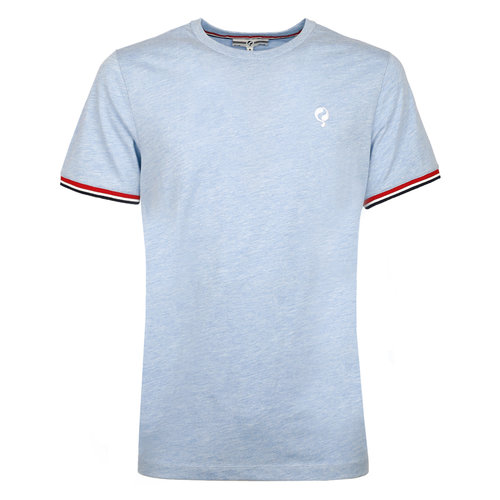 Men's T-shirt Katwijk  -  Heaven Blue