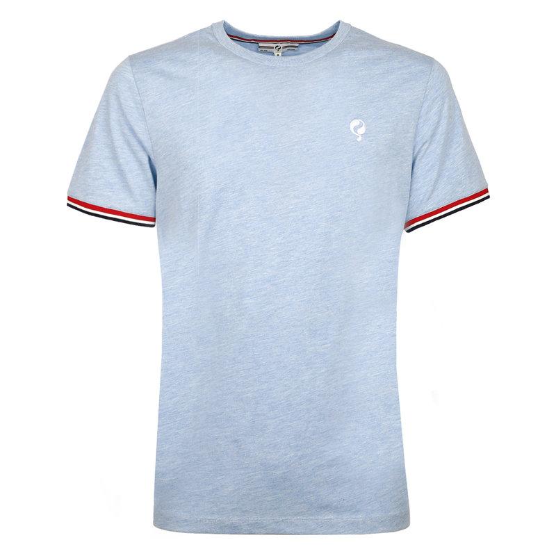 Q1905 Men's T-shirt Katwijk  -  Heaven Blue