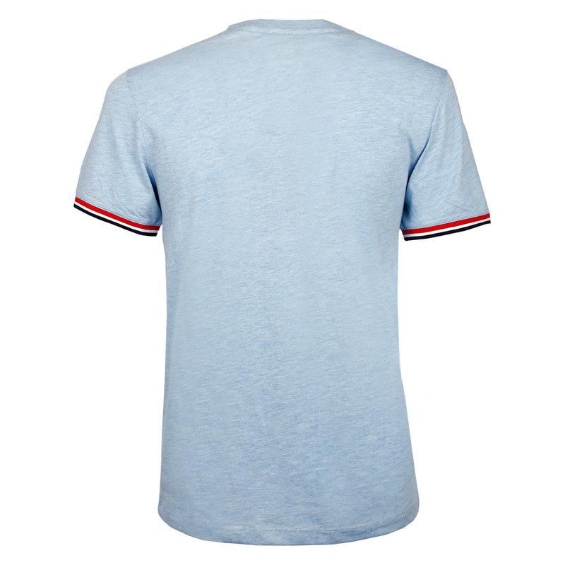 Q1905 Heren T-shirt Katwijk  -  Hemelsblauw