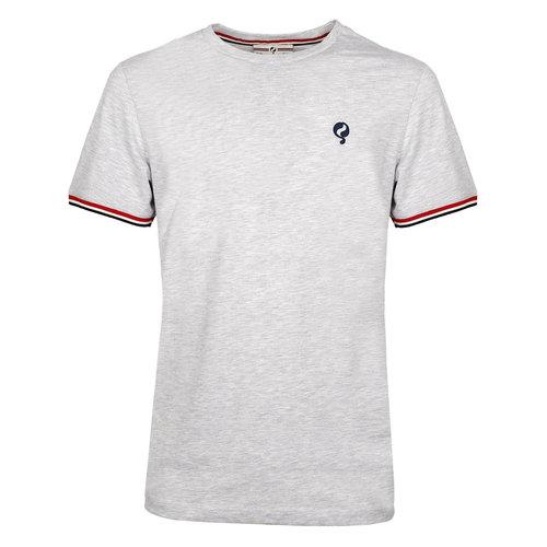Heren T-shirt Katwijk  -  Lichtgrijs