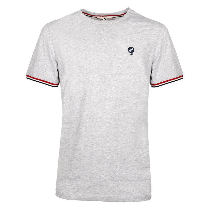 Q1905 Men's T-shirt Katwijk  -  Light Grey