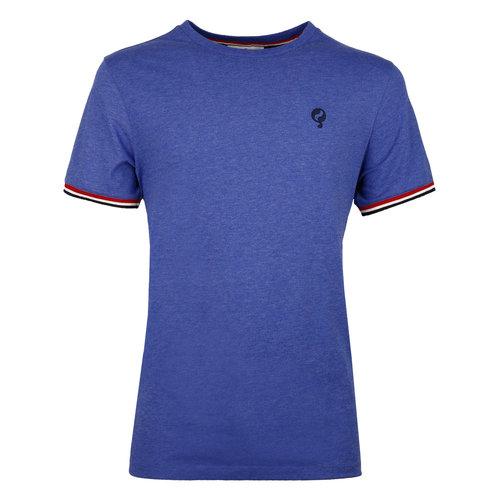 Heren T-shirt Katwijk  -  Hard Blauw