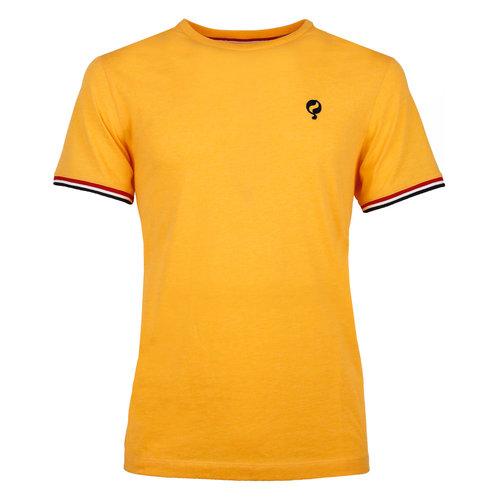 Heren T-shirt Katwijk  -  Okergeel